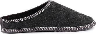 Ladeheid Men´s Felt Shoes Slippers Flipflops LABR166 (Graphite, 10.5 UK)