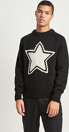 French Connection Intarsia Star Shetland Wool Jumper