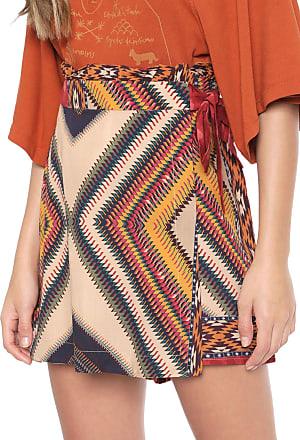 Dress To Short-saia Dress to Danza Bege/Vermelho