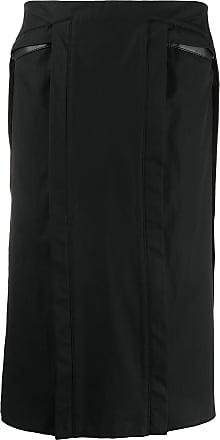 Zilver Judd midi skirt - Black