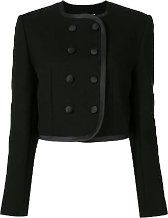 George Keburia fitted double-breasted jacket - Preto