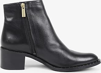 Scalpers Ankle Boots With Studded Sole