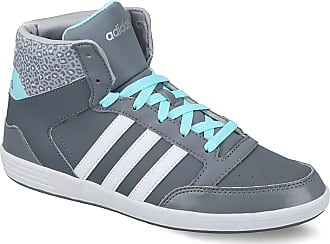 best service 2301a a6752 adidas Womens Adidas Neo Hoops Vulc Daily Twist Mid Trainers Hi Top Vl Gym  Sports Shoes