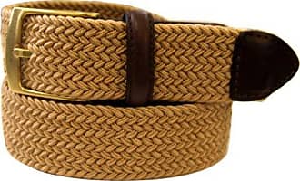 Dockers Mens 1 3/8 in. Braided Canvas Web Belt,Khaki,32