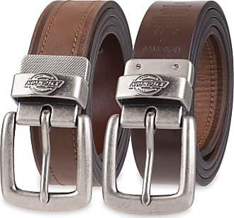 Dickies Mens Reversible Belt, Brown/Black One, Medium (34-36)