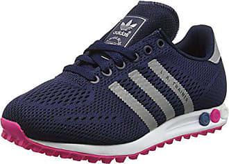 the latest f3810 fe230 adidas Damen LA Trainer EM Sneakers Blau (Collegiate NavySilver Met.Shock