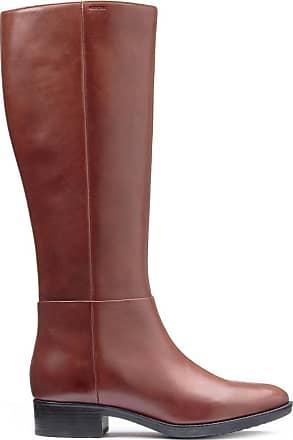 geox sneaker Billig braun, Damen Stiefel Geox FELICITY