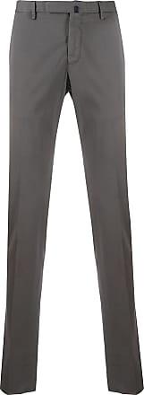 Incotex slim fit chino trousers - Grey