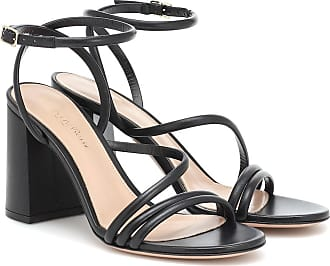 Gianvito Rossi Bekah 85 leather sandals
