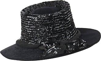 1stdibs Edwardian C.1900s Black Beaver Fur Felt Sequin Embellished  Afternoon Hat 9e4402bb0aa1