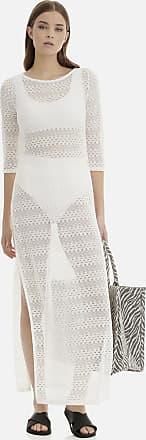 Sugarfree White crochet long dress