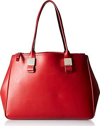 b06e45edc0 Cole Haan Tali Double Zip Leather Tote barbados cherry