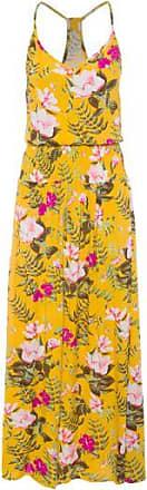 Market 33 Vestido Longo Estampado Market 33 - Amarelo