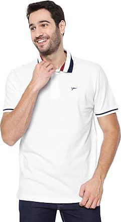 Yachtsman Camisa Polo Yachtsman Reta Listras Branca