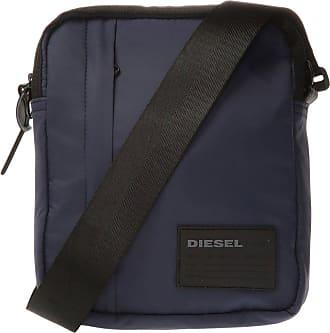 Diesel Oderzo Branded Shoulder Bag Mens Navy Blue