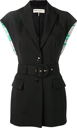 Emilio Pucci structured vest - Black