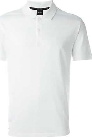 HUGO BOSS classic polo shirt - White
