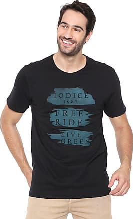 Iodice Camiseta Iódice Lettering Preta