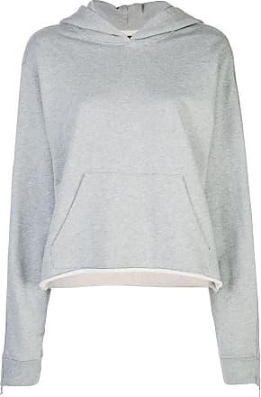 Rta relaxed hooded sweatshirt - Cinza