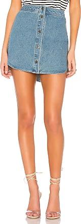 BB Dakota Macyn Skirt in Light Blue