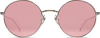 Komono Himbeer Yoko Edelstahl Sonnenbrille - Pink