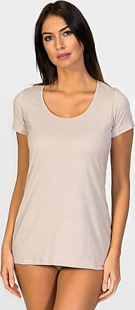 ZD Zero Defects Zero Defects beige soya short-sleeved top