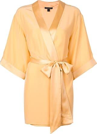 Kiki De Montparnasse Robe de seda - Rosa
