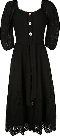 We Are Kindred broderie anglaise flared dress - Black