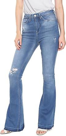 Calvin Klein Jeans Calça Jeans Calvin Klein Jeans Flare Five Pockets Azul