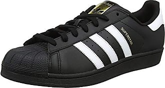 on sale 1f664 7ea91 adidas Superstar Foundation, Scarpe da Fitness Uomo, Nero (Negbas Ftwbla  000)