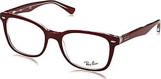 39a11aa752 Ray-Ban 0Rx5285 Monturas de gafas, Top Bordeaux on Trasparent, 53 Unisex