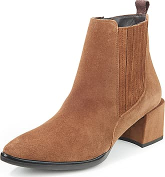 Paul Green Ankle boots made of calf suede leather Paul Green brown
