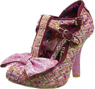 Irregular Choice Womens Sundae Sprinkles Closed-Toe Heels, Pink, 6 UK 39 EU