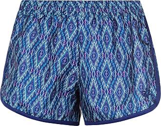 Hot Tuna Womens Printed Swim Shorts Board Pants Trousers Bottoms Print Electric Blue (M) 12