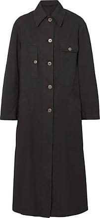 Dries Van Noten Oversized Cotton-blend Coat - Black