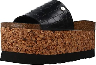 Yellow Women Sandals and Slippers Women Pixie Black 5.5 UK