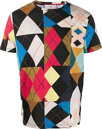 Pringle Of Scotland Camiseta com patchwork - Preto