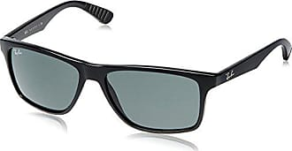 c168b176b Ray-Ban INJECTED MAN SUNGLASS - BLACK Frame GREY GREEN Lenses 58mm Non- Polarized