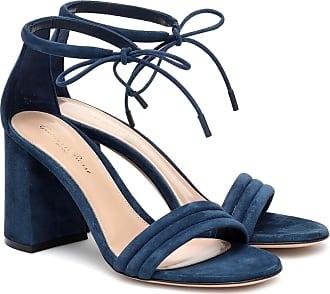 Gianvito Rossi Sydney 85 suede sandals