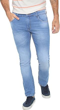 Yachtsman Calça Jeans Yachtsman Slim Estonada Azul