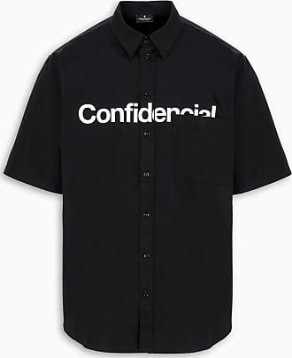 Marcelo Burlon Camicia nera Confidencial