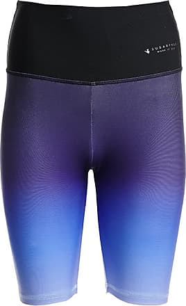 Sugarfree Running woman cyclist style bi color leggings