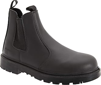 GRAFTERS WATERPROOF SAFETY RIGGER BOOTS SIZE UK 6-13 MENS LEATHER M560B KD