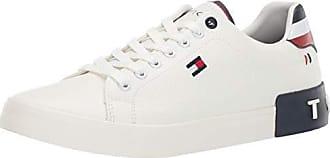 Tommy Hilfiger Mens Rezz Sneaker, White, 11.5
