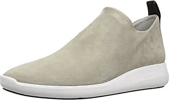 Via Spiga Womens Marlow Slip ON Sneaker, Cement Suede, 5.5 M US