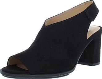 Naturalizer Womens Preston Solid Dress Sandals Black US 6.5 Medium (B,M)