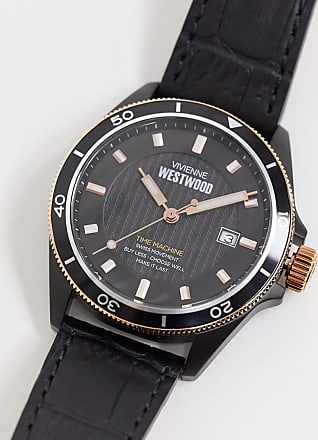 Vivienne Westwood spitalfields watch in black