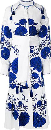 Yuliya Magdych Flower Shell dress - White