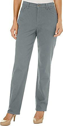 Gloria Vanderbilt Womens Petite Amanda Classic Tapered Jean, Sage Brush, 4P