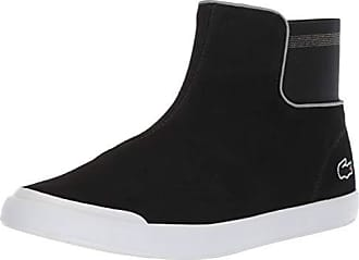 Lacoste Womens Lancelle Chelsea Boot Black/Dark Grey 8 Medium US